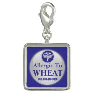 Wheat allergy blue square   Medical alert