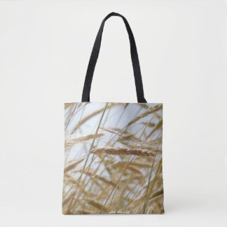 Wheat And Blue Sky Tote. Tote Bag