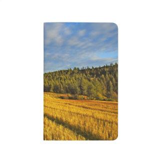 Wheat Field After Harvest Journals