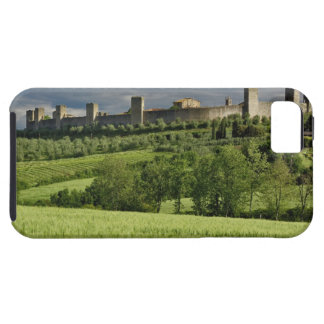 Wheat field and distant Monteriggioni, in the iPhone 5 Case
