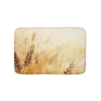 Wheat field bath mats