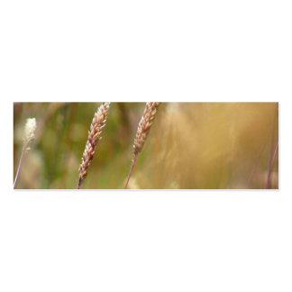 Wheat Field Blur Business Card