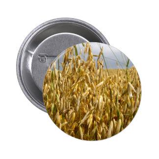 Wheat Field Button Badge