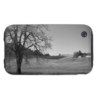 Wheat field, Oregon iPhone 3 Tough Case