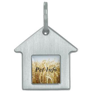 Wheat Field Pet Tag