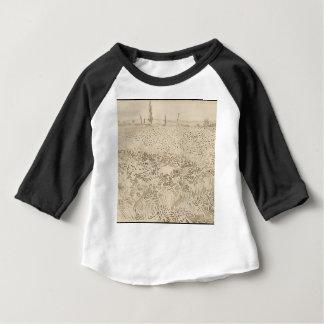 Wheat Field - Van Gogh Baby T-Shirt
