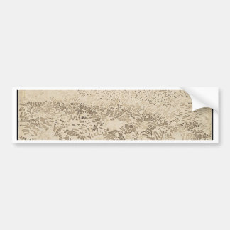 Wheat Field - Van Gogh Bumper Sticker