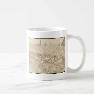 Wheat Field - Van Gogh Coffee Mug