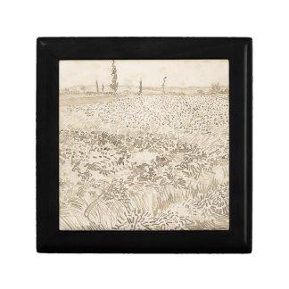 Wheat Field - Van Gogh Gift Box