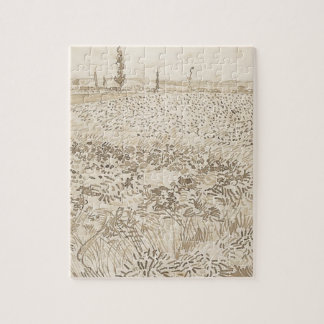 Wheat Field - Van Gogh Puzzle