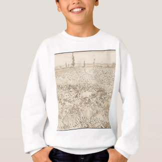 Wheat Field - Van Gogh Sweatshirt