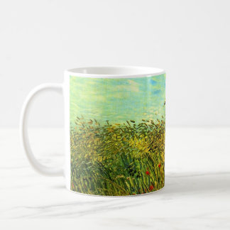 Wheat Field with a Lark by Vincent van Gogh Coffee Mug