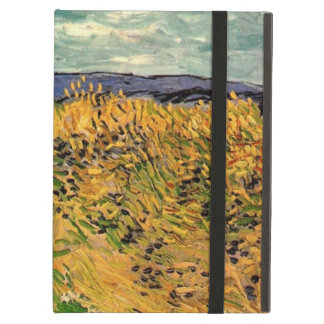 Wheat Field with Cornflowers by Van Gogh. iPad Cover