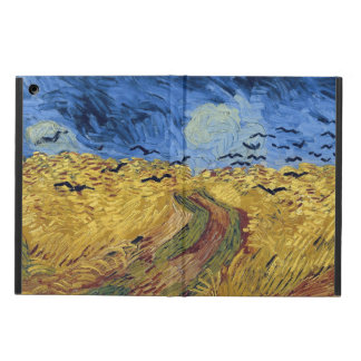 Wheat Field with Crows by Van Gogh iPad Air Covers