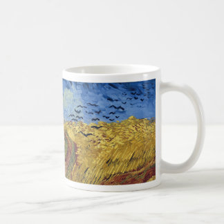 Wheat Field with Crows by Van Gogh Mugs