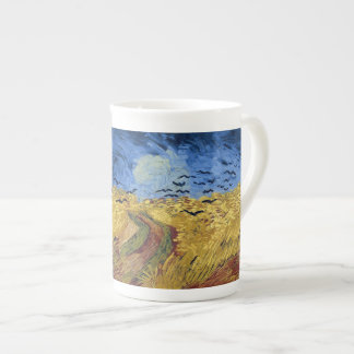 Wheat Field with Crows by Van Gogh Tea Cup