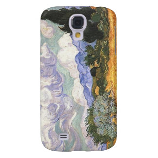 Wheat Field with Cypress by Van Gogh. Galaxy S4 Cases