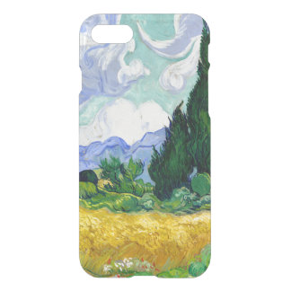 Wheat Field with Cypresses by Van Gogh Fine Art iPhone 7 Case