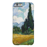Wheat Field with Cypresses by Vincent Van Gogh Barely There iPhone 6 Case