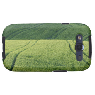 Wheat Field with Tire Tracks, Pienza, Val Galaxy SIII Covers