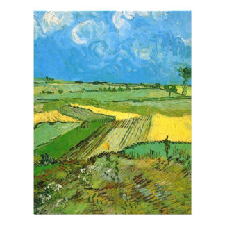 Wheat Fields at Auvers Under Clouded Sky Flyer Design