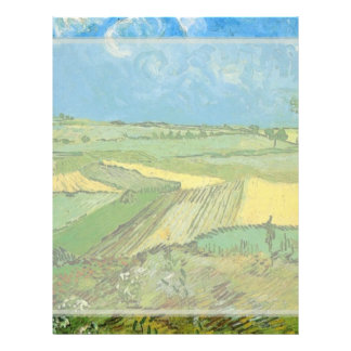 Wheat Fields at Auvers Under Clouded Sky Flyers