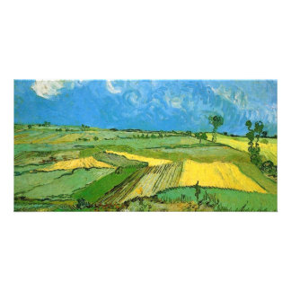 Wheat Fields at Auvers Under Clouded Sky Photo Cards