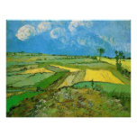 Wheat Fields at Auvers Under Clouds by van Gogh Posters
