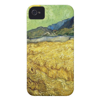 Wheat Fields with Reaper at Sunrise - Van Gogh Case-Mate iPhone 4 Case