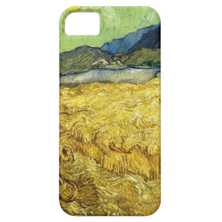 Wheat Fields with Reaper at Sunrise - Van Gogh iPhone 5 Cases