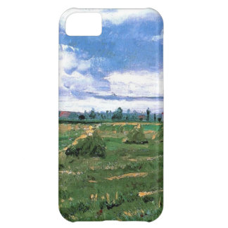 Wheat Fields with Stacks, Vincent van Gogh iPhone 5C Case
