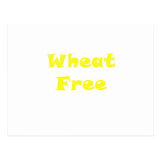 Wheat Free Postcards