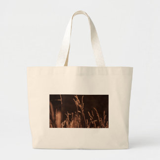 wheat grass large tote bag