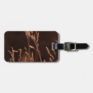 wheat grass luggage tag