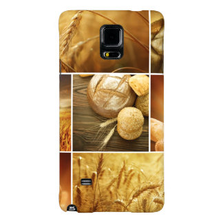 Wheat.Harvest concepts.Cereal collage Galaxy Note 4 Case