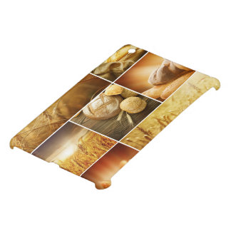 Wheat.Harvest concepts.Cereal collage iPad Mini Cover