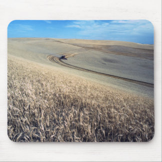 Wheat harvest mouse pad