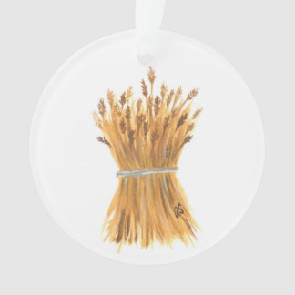 Wheat Ornament