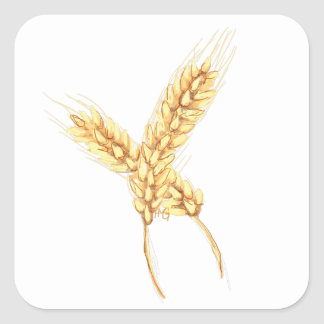 Wheat Sticker