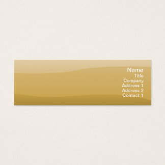 Wheat Waves - Skinny Mini Business Card