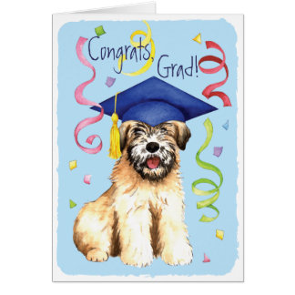Wheaten Graduate Card