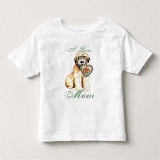 Wheaten Heart Mom Toddler T-Shirt