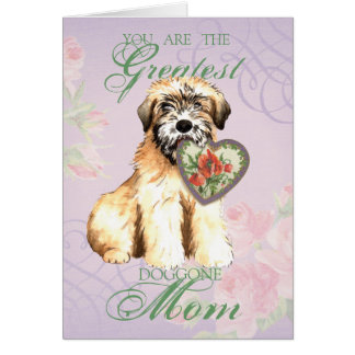Wheaten Hearts Mom Card