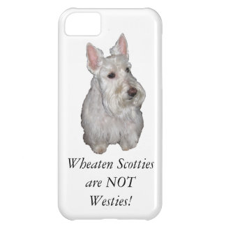 Wheaten Scotties are NOT Westies! iPhone 5C Case