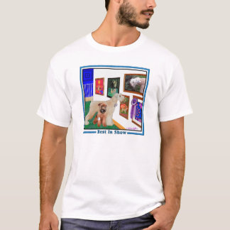 Wheaten Terrier: Best In Show (BIS) T-Shirt