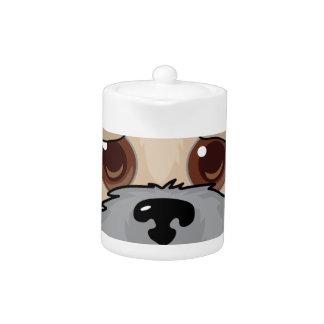 Wheaten Terrier Face