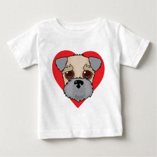 Wheaten Terrier Face Baby T-Shirt