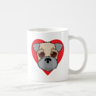 Wheaten Terrier Face Coffee Mug
