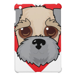 Wheaten Terrier Face iPad Mini Covers