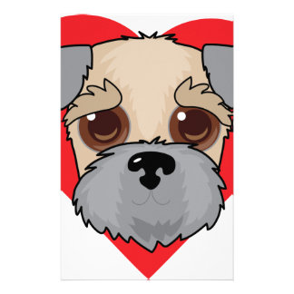 Wheaten Terrier Face Stationery